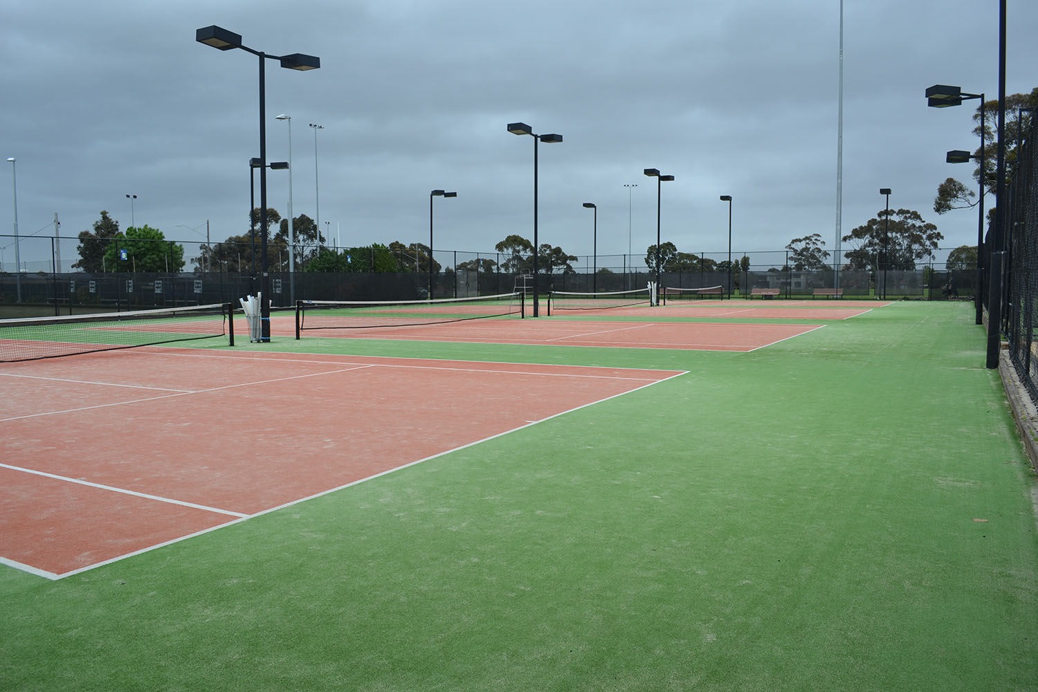 Back courts
